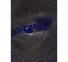 My Eye In Perspective of Blue Photographic Print