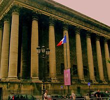 La Bourse  (The Stock Exchange Paris) by Rusty  Gladdish