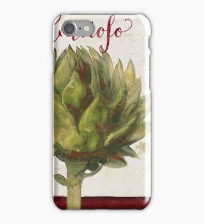 Cucina Italiana Carciofo iPhone Case/Skin