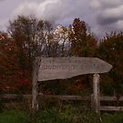 Sign Of A Nature Preserve by AlGrover