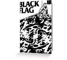 Black Flag - Six Pack Greeting Card