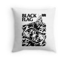 Black Flag - Six Pack Throw Pillow