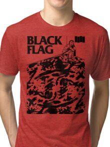 Black Flag - Six Pack Tri-blend T-Shirt