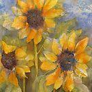 Sunny Trio by bevmorgan