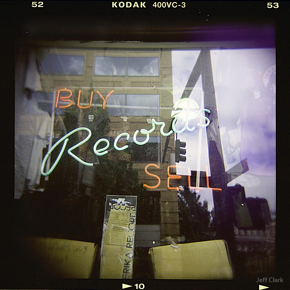 Never Cool Enough to Work at a Record Store by Jeff Clark