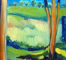 field by Magdalena  Mirowicz