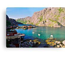 Lofots . My love Norway . Vestvagoy .2004. Views (261). by Brown Sugar. Metal Print
