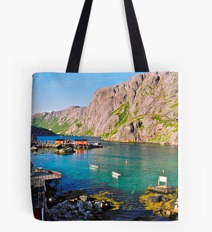 Lofots . My love Norway . Vestvagoy .2004. Views (261). by Brown Sugar. Tote Bag