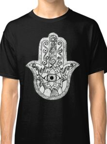 Monochrome Hamsa Classic T-Shirt