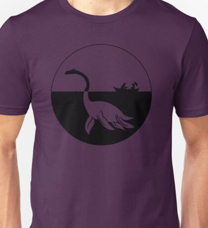 Nessy (Loch Ness Monster) Logo Unisex T-Shirt