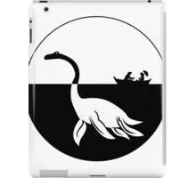 Nessy (Loch Ness Monster) Logo iPad Case/Skin