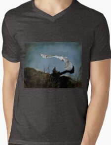 Wings of winter Mens V-Neck T-Shirt