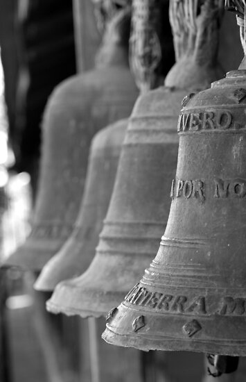 Bells II - Santiago, Bolivia by Jason Weigner