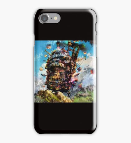 howl's moving castle iPhone Case/Skin
