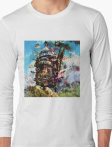 howl's moving castle Long Sleeve T-Shirt