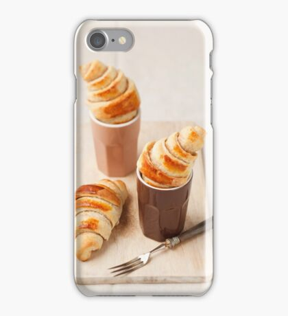 Small croissants iPhone Case/Skin