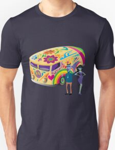 Psychedelic Vehicle & Beatniks Unisex T-Shirt