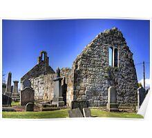 St Cuthbert's Ruined Church Poster
