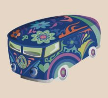 60's Psychedelic Vehicle by Zehda