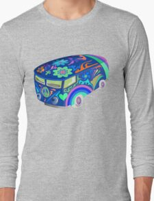 60's Psychedelic Vehicle Long Sleeve T-Shirt