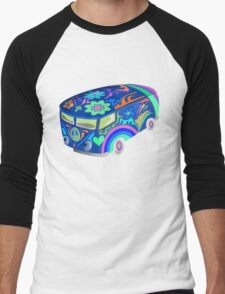 60's Psychedelic Vehicle Men's Baseball ¾ T-Shirt