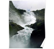 Waterfall - Kjosfossen, Norway Poster