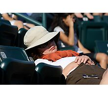 Boring Tennis Match? Photographic Print