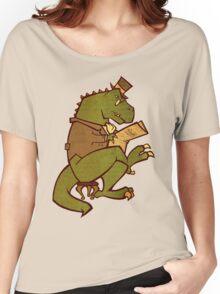 Gentleman T-Rex Women's Relaxed Fit T-Shirt