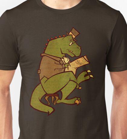 Gentleman T-Rex Unisex T-Shirt