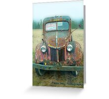 3 Ton Ford Truck Greeting Card