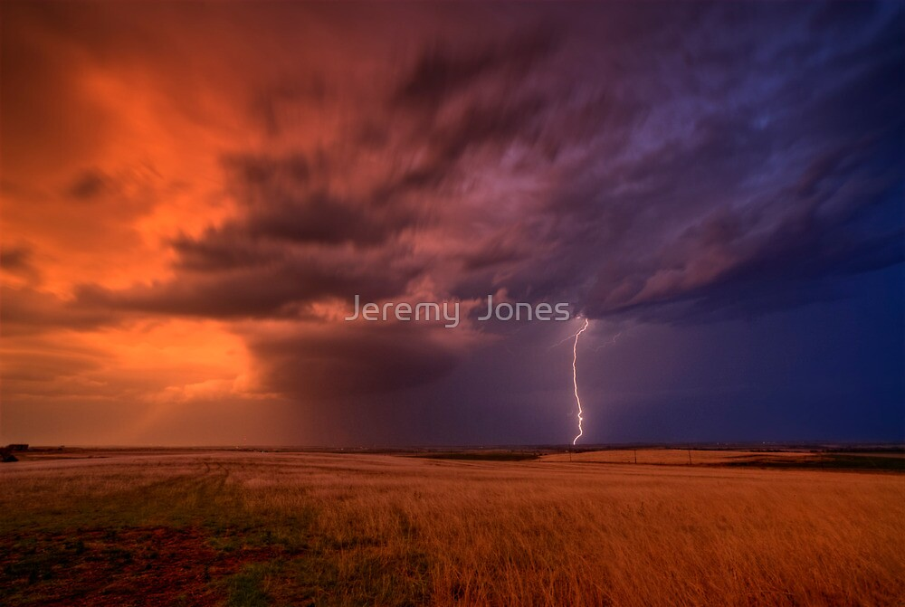 Low Precip. Super Cell!  by Jeremy  Jones