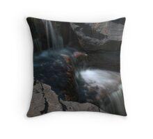 Waterfall (detail) Throw Pillow