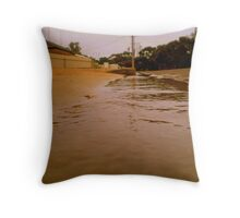 deluge. Throw Pillow