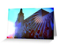 Cityscapes - Celebration of 18th & Vine Greeting Card