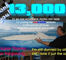 13000 Thanks to you by Ken Tregoning