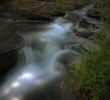 The Retreating Waterfall by Aaron Campbell