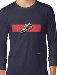 8-bit running shoe T-shirt Long Sleeve T-Shirt