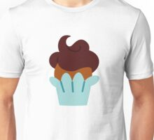 Cupcake-Blue Unisex T-Shirt