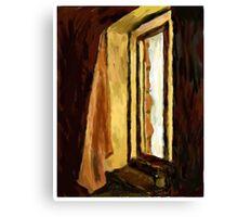 SAD WINDOW, SAD VIEW Canvas Print