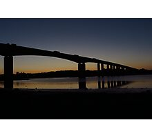 The Orwell Bridge at Dawn  Photographic Print