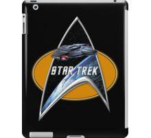StarTrek defiant Command Signia Chest iPad Case/Skin