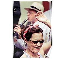 Jazz Dancin' Poster