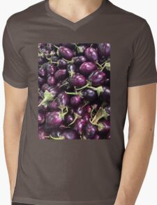 Eggplants Mens V-Neck T-Shirt
