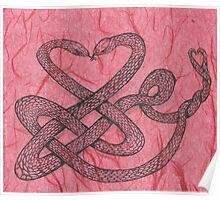Love snakes Poster