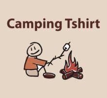 Camping Tshirt by Heidi Hermes