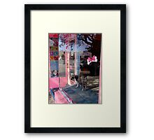 The One Without The Waggly Tail Framed Print