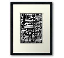 Where Is Everybody? Framed Print