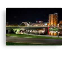 Adelaide Riverbank at Night II Canvas Print