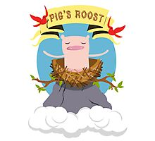 Pig's Roost Photographic Print