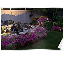 My Evening Garden Poster